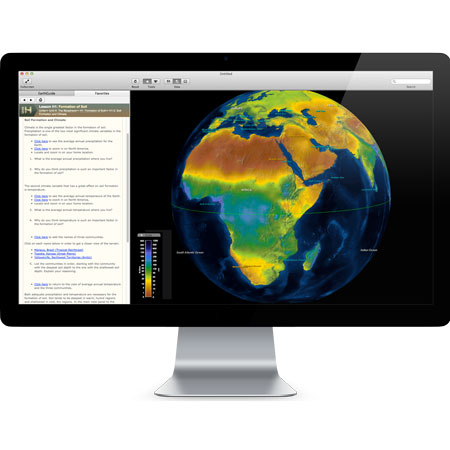Layered Earth Physical Geography Software Biosphere Simulation