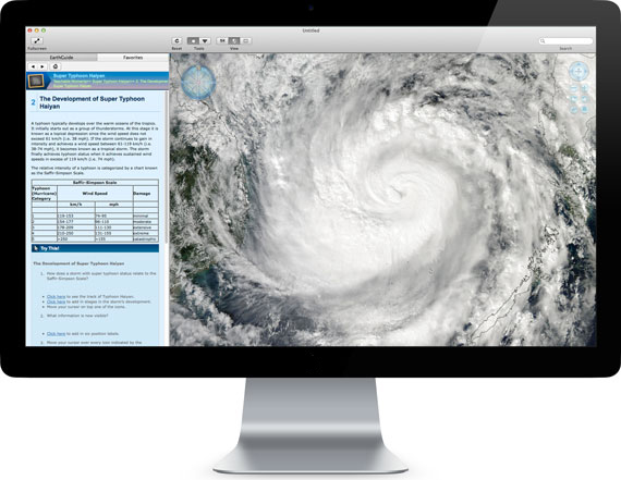 Layered Earth Meteorology Software Super Typhoon simulation